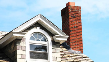 chimney roof home